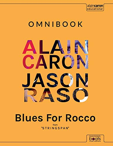 BLUES FOR ROCCO - Omnibook: Learning by playing TOP artists basslines