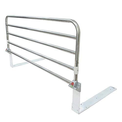 Peuter Bed Rail Bed Assist Rail Handvat, Medische Verstelbare Hand Guard Grab Bar, Bed Veiligheid en Stabiliteit Hoge Kwaliteit Roestvrij Staal 90x33cm