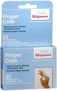 Finger Cots Assorted - 3PC