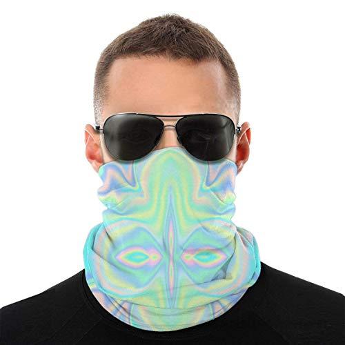 DFGHG Pañuelo para la cabeza con textura sin costuras Imagen vectorial Toalla facial con bolsillo interior Polaina cálida a prueba de sol para deportes al aire libre