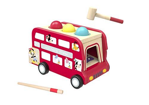 Disney TY415 Bus impérial et SES amis Mouse Kaiserbus und Xylophon Mickey und Seine Freunde, Mehrfarbig