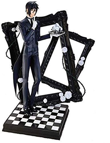 LJXGZY Regalo Black Butler: Sebastian Cielr Phantomhive - Estatua de 9 84 Pulgadas PVC Figura Coleccion Decoracion Modelo Regalo de cumpleanos Estatua