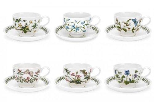 Portmeirion Botanic Garden - Taza de té y platillo, diseño de jardín