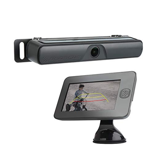 """SCOSCHE WBUSSMM43-SP Wireless Solar Powered Backup Camera Kit with 4.3"""" Color Dash Monitor, License Plate Frame and MagicMount Select for Cars, Trucks and SUV's"""
