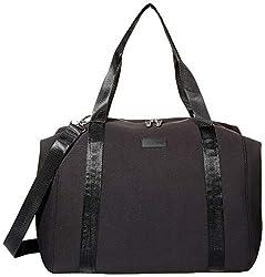 small Anne Klein Large Neoprene Travel Bag Black