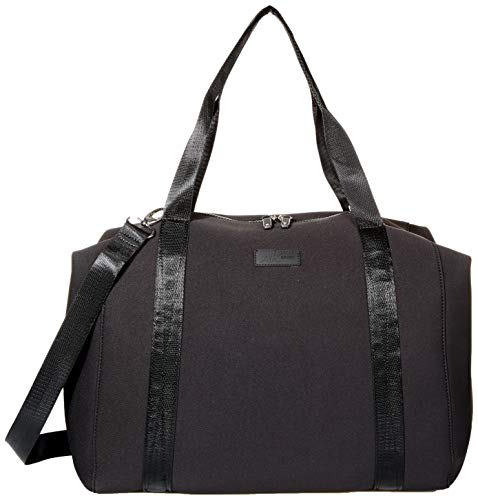 Anne Klein Large Neoprene Duffle, Black