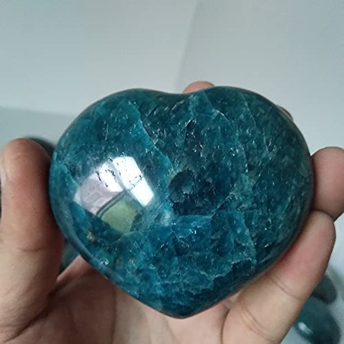 BIMUS 1pc Natural Blue Apatite Polycrystalline Crystal Miami Mall Wholesale Stone Hea