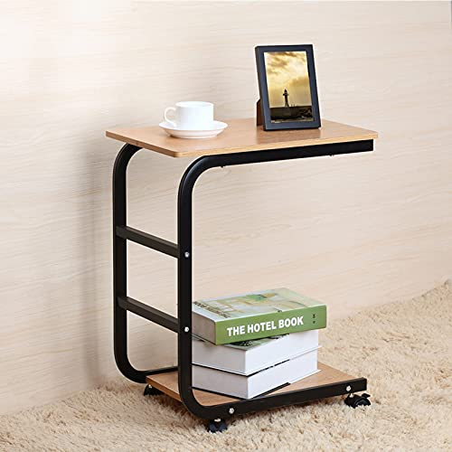 Study Laptop Table Office Side Table Mobile Lap Table Computer Desk Stand Desk For Bed Sofa Office,B