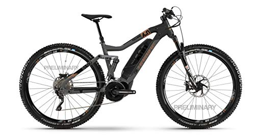 Haibike Sduro FullNine 6.0 Yamaha - Bicicleta eléctrica 2020 (XL/52 cm, titanio/negro/bronce)