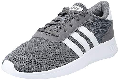 adidas Men's Lite Racer Running Shoes, Grey (Grey Four F17/Ftwr White), 9 UK
