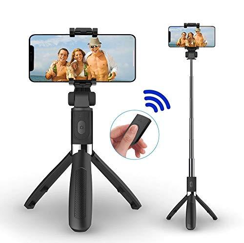 Pau De Selfie Tripé Bluetooth Controle Sem Fio Fotos e Vídeos