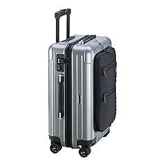 Color: Silver Size (W x H x D): 40 x 55 x 23cm Volume: 37L Weight: 3.8kg Material: 100% polycarbonate (trolley shells), keprotec with Kevlar fibres (front pocket), 100% polyester (lining)