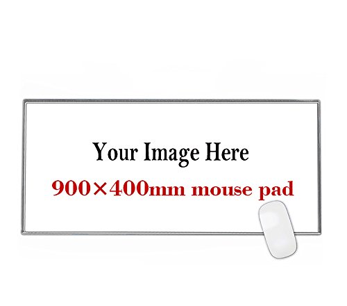 Personalized Large Gaming Mouse Pad,900x400mm Extended Size Desk pad,Custom Your Picture,Logo,Text,Make Your own Mousepad