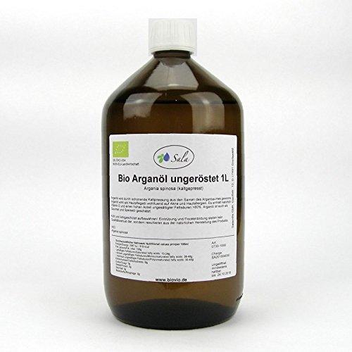Sala Arganöl kaltgepresst ungeröstet bio 1000 ml 1 L