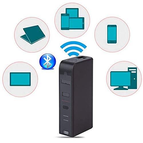 Roboraty Projektion Virtuelle Drahtlose Bluetooth-Handy USB-Tastatur, Maus Infrarot Tragbare Geburtstagsgeschenk, Drahtgebundene Und Drahtlose Verbindung, Touch Sensing,Black