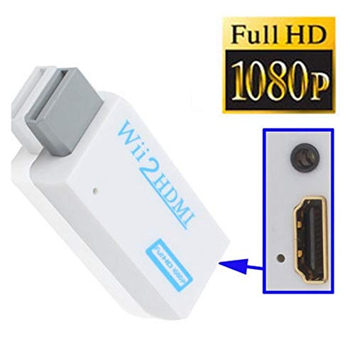 Convertisseur Adaptateur Wii vers HDMI 1080p