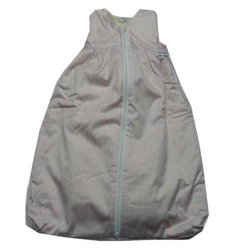 TAVO Schlafsack Teddyfutter kleines Karo Größe: 70 Farbe: original
