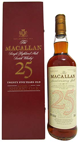 Macallan - Anniversary Malt Sherry Oak - 25 year old Whisky