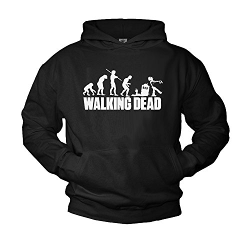 Makaya Sweat a Capuche Walking Dead Noir XL