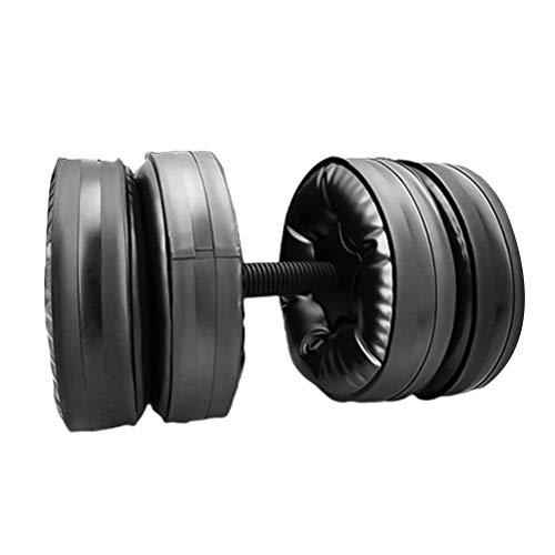 ABOOFAN Wassergefüllte Anti-Leck-Hanteln, verstellbar, für Bodybuilding, Trainingsgerät, Armmuskeln, Fitness-Hantel (20–25 kg)