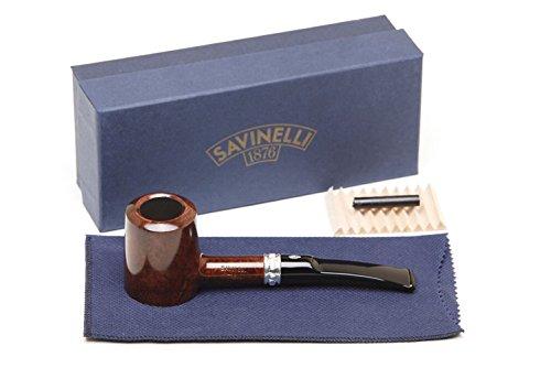 Savinelli Italian Tobacco Smoking Pipes, Trevi Smooth 310 KS