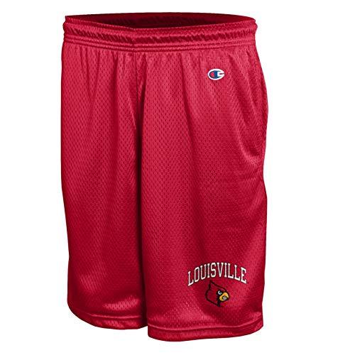 NCAA Louisville Cardinals Men's Classic Mesh Short, 2X-Large, Scarlet