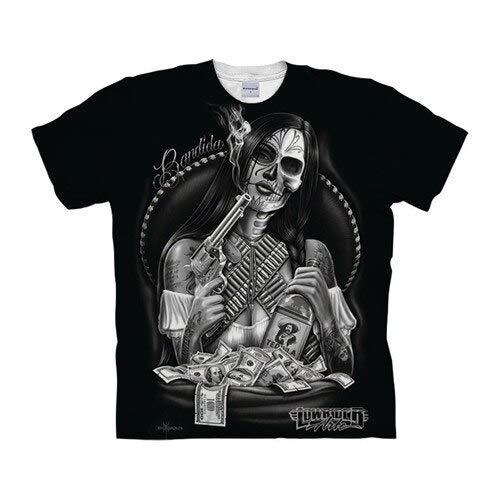 T Shirt Skull Tshirts 3D T Shirt Men T-Shirt Streatwear Tee Top Short Sleeve Hip Hop Asian6Xl Tx1044