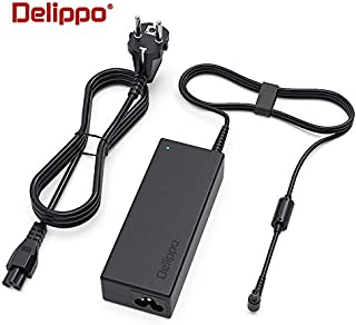 """Delippo AC Adapter for 19V LED LCD Monitor Widescreen HDTV Power Cord Replacement Charger Adapter for 19"""" 20"""" 22"""" 23"""" 24"""" 27"""" Replacement Switching Power Supply Cord Charger"""