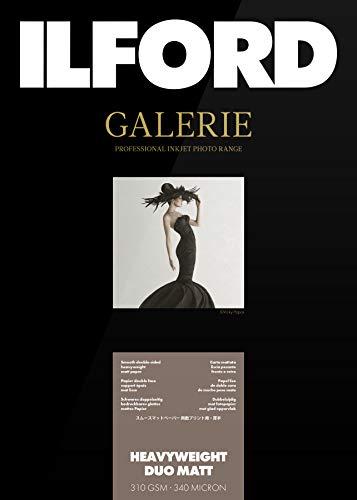 ILFORD GALERIE Heavyweight Duo Matt 310gsm A4-210mm x 297mm 50 Blatt