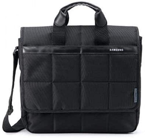 Samsung Pleomax Business Messenger Bag Notebooktasche für 39,6cm /15.6 Zoll Laptops und Notebooks mit Tragegriff und Schultergurt - Schwarz