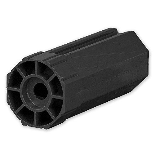 Walzenkapsel für Achtkant Rolladenwelle SW 60, Aufnahme für Kugellager Ø = 28 mm, von EVEROXX®