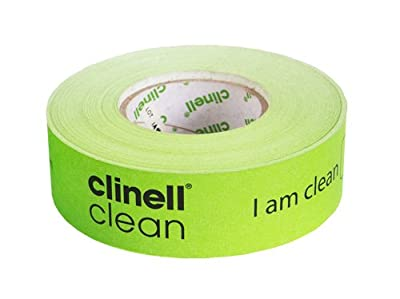 Clinell Indicator Tape - Sticks To itself Not Equipment - 100M Tape by Gama Healthcare
