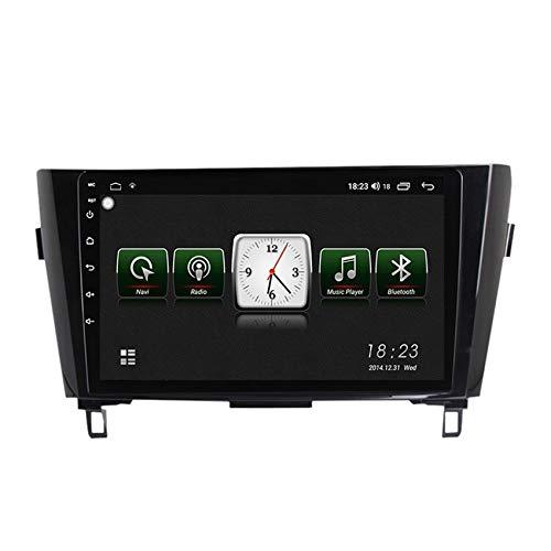 ADMLZQQ 2 DIN Android Radio del Coche Navegación GPS para Nissan X-Trail 2013-2016 HD Pantalla Táctil WiFi Internet Multimedia DSP RDS Bluetooth Manos Libres Cámara de Marcha atrás(Gift),7731,1+16G