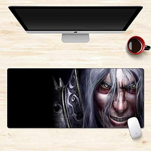MRNLLL- Tapis de Souris Gaming XXL World of Warcraft - sous-Main Antidérapant - 90 x 40cm-D_900X400mm