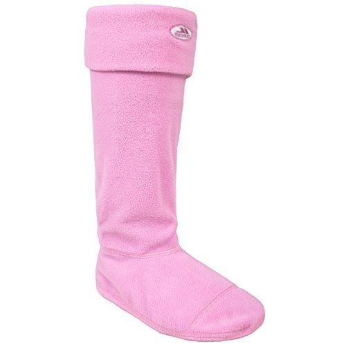 Trespass Damen SNOOKIE Warme Fleece Socken Für Gummistiefel, Blossom, L