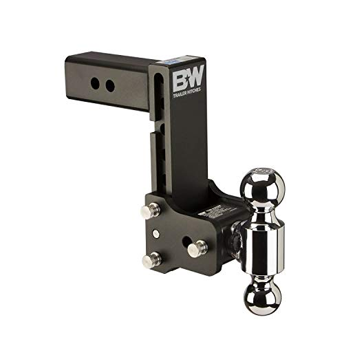 Best Bargain B&W Tow & Stow - Fits 2.5 Receiver, Dual Ball (2 x 2-5/16), 7 Drop, 10,000 GTW