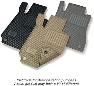 Mercedes Benz Q6680665 C-Class Black All Weather Rubber Floor Mat Sets