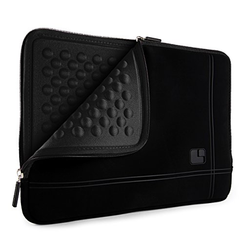 Price comparison product image SumacLife Bubble Padded Laptop Sleeve for Asus ZenBook (S13 UX331 UX391 UX392 UX433),  VivoBook (S412 S432 F412),  NovaGo,  AsusPRO,  Laptops up to 12.75 inches (Black)