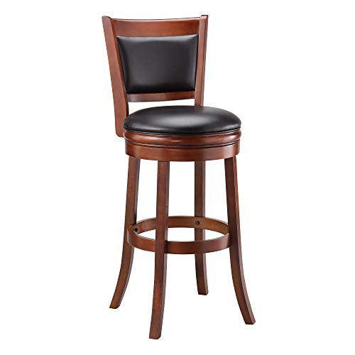 wood bar stools swivel - 1