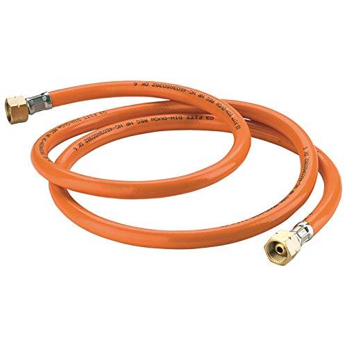 Kemper 4659 - Flexibler Gasleitung, 5 m, zur Befestigung an einem thermischen Unkrautvernichter