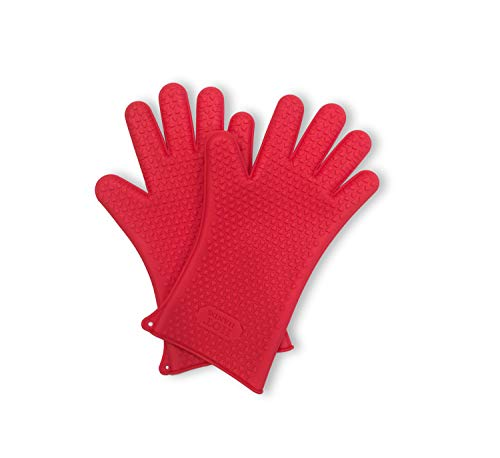 Hot Hands Extended Protection As Seen on TV, Heat-Resistant Silicone Oven Gloves