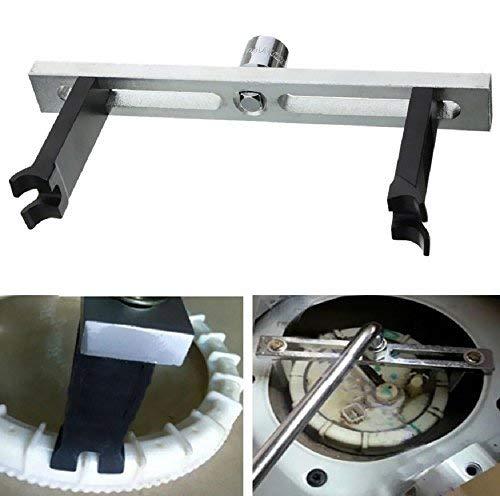 LPHUMEX Fuel Pump Removal Tool - Fuel Pump Lock Ring Tool, Fuel Tank Repair Kit, Fuel Tank Lid Cover Remove Spanner, 3/8' to 1/2' Adjustable Lock Ring Spanner