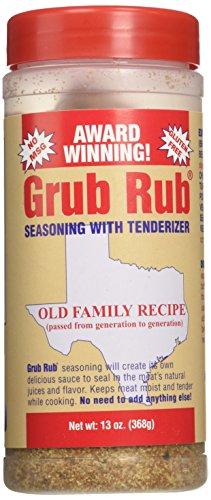 Gordon's Seasoning Grub Rub, 13-Ounce (Pack of 3)