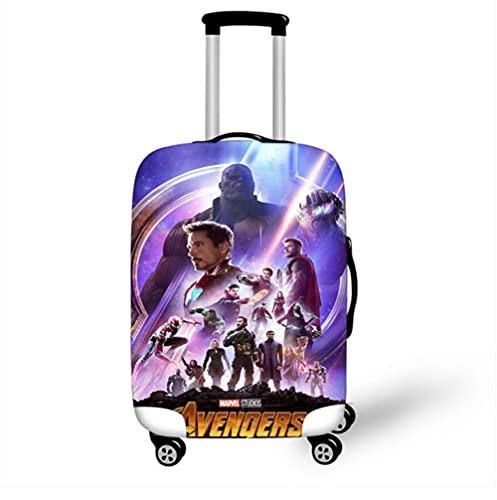 18 '' - 32 '' Super Marvel Hero Funda Protectora de Equipaje elástica Trolley Maleta Bolsa de Polvo Estuche de Viaje de Dibujos Animados Set-3_S
