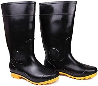 Hillson TC07HLS0149_Size 8 Century Safety Gumboots, Yellow, UK Size 8