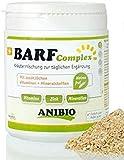Anibio Comida complementaria para perros y gatos de Barf-Complex, 120 g, mezcla de hierbas para el complemento diario