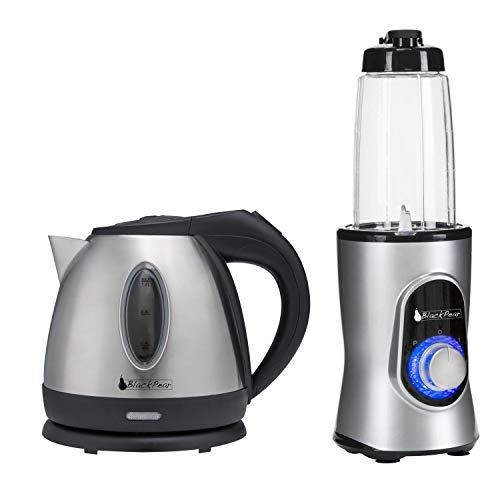 Black Pear BSF1216 - Bouilloire + Blender Black Pear BBL100 220W capacité 0.6L gris