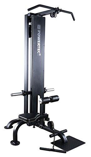 Powertec Fitness LAT Machine, Black