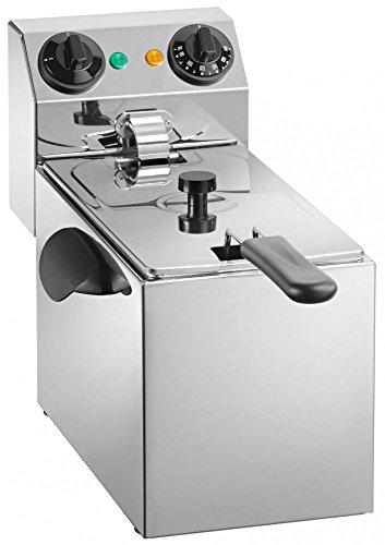 Friggitrice Professionale Elettrica Da Banco 3 Litri 2000W 220V