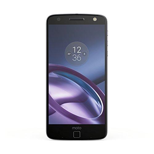 Lenovo Moto Z Smartphone de 5,5 Pulgadas (memoria interna de 32GB, 4GB RAM, cámara de 13 MP) color negro